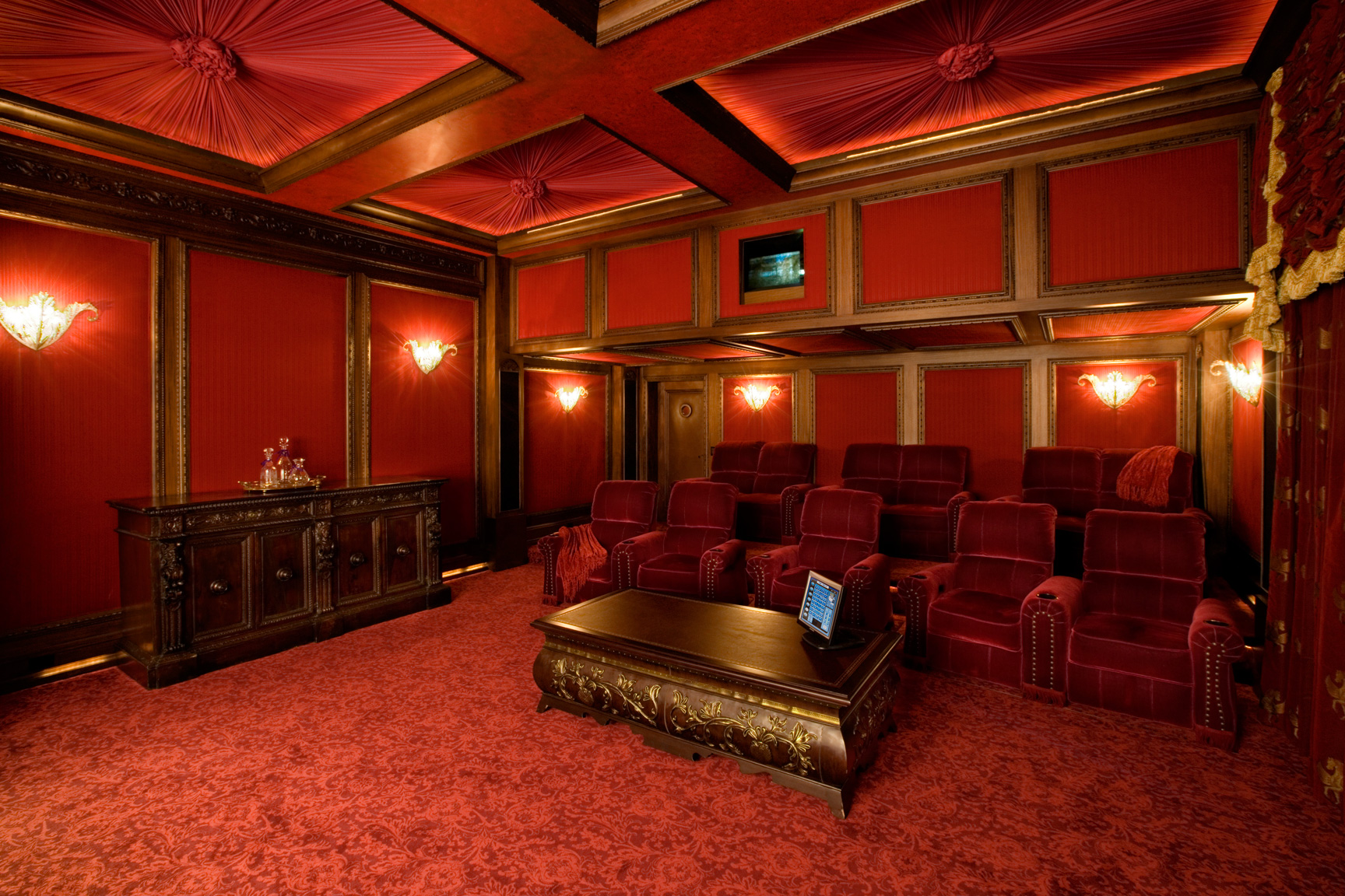 Theatre Room Seating Ideas