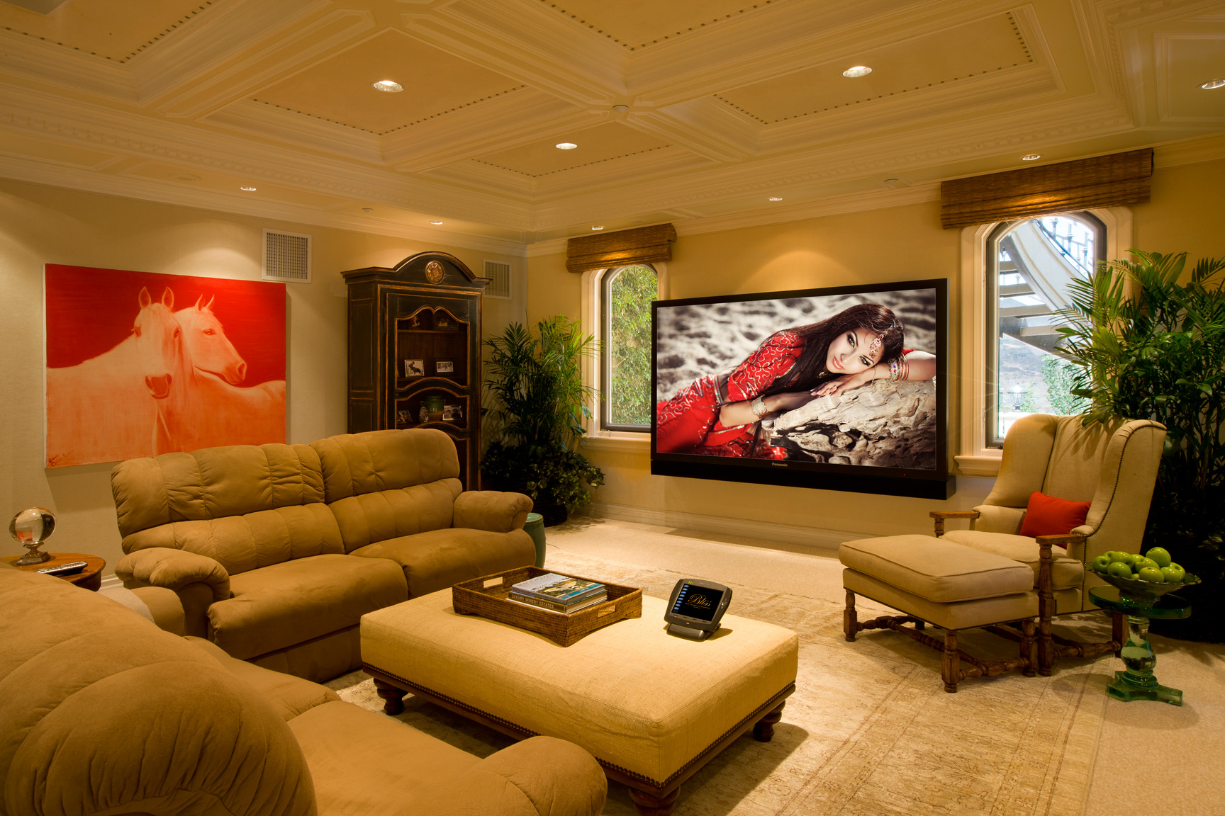 Media rooms gallery for Pictures of bed rooms